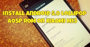 android 5 lollipop aosp rom