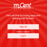 Earn Free Recharge with Download MCent Android App (APK) 2015